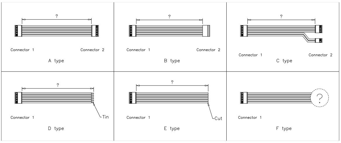 Molex SPOX 396 Connector Cable Assemblies